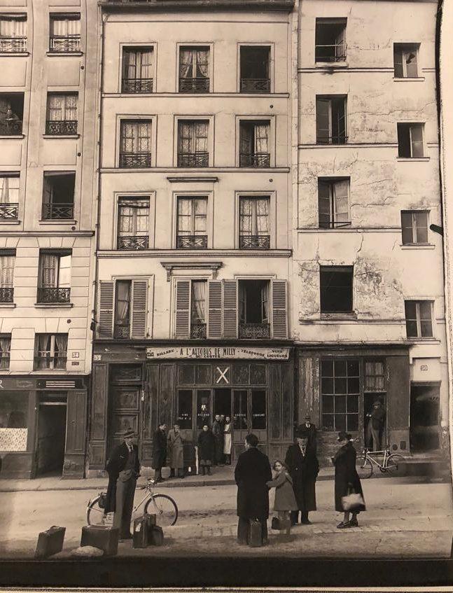 52 rue de l'hôtel de ville dans les années 40